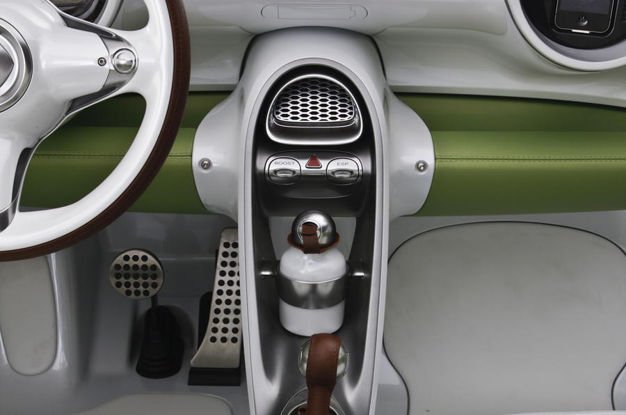 Smart Forspeed concept centre console
