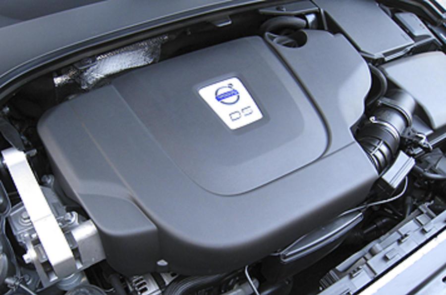 2.4-litre Volvo S80 diesel engine
