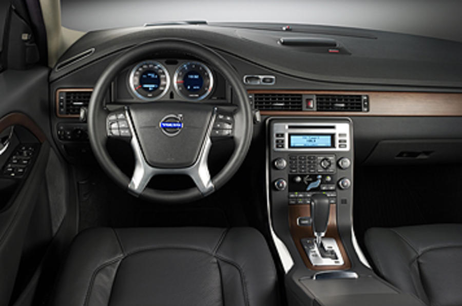 Volvo S80 dashboard