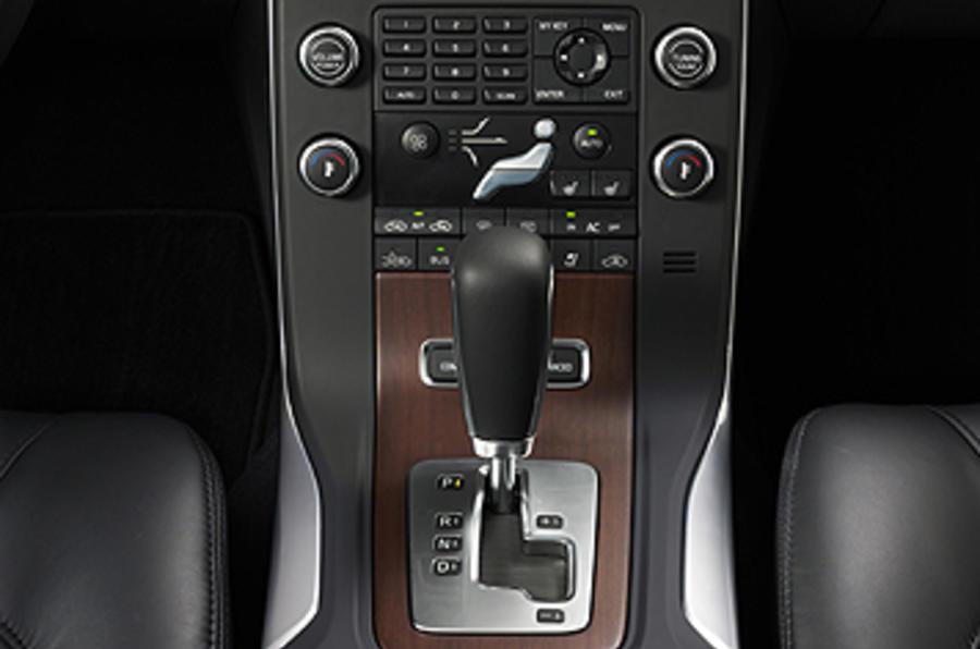 Volvo S80 centre console