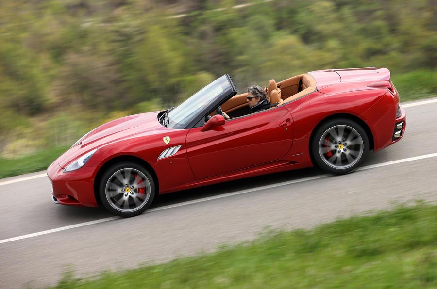 Ferrari California side profile