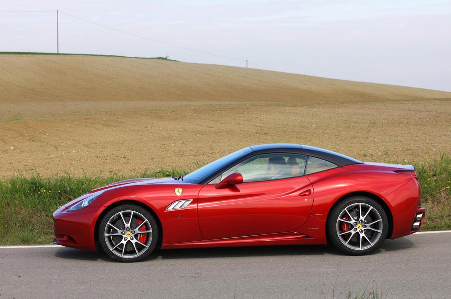 Ferrari California roof up