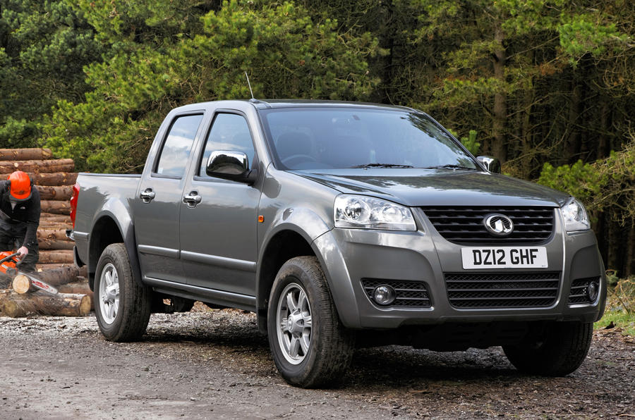 Great Wall Steed launched in UK