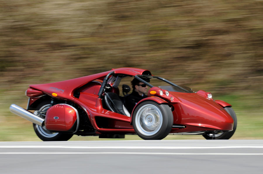 Campagna T-rex 14R on the road