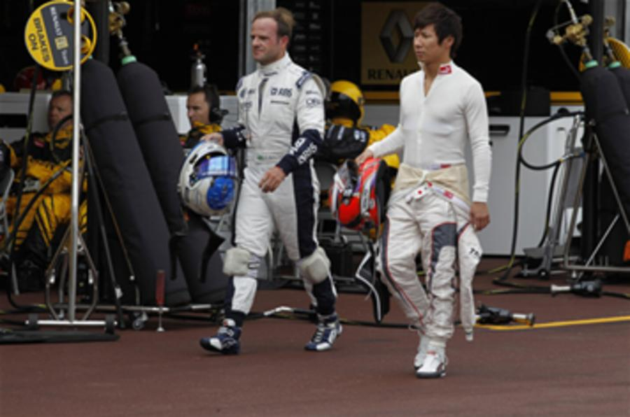 Barrichello denies reckless action