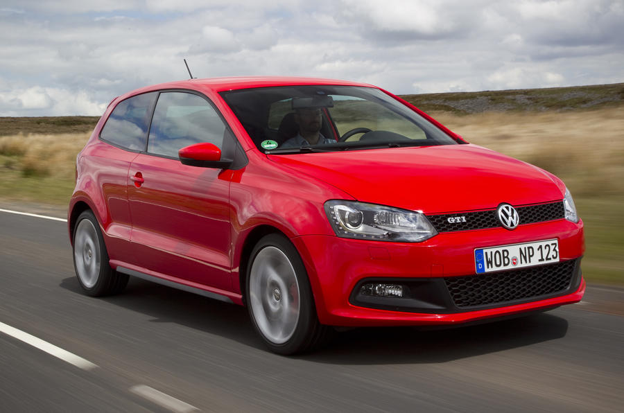 Volkswagen Polo GTI front quarter