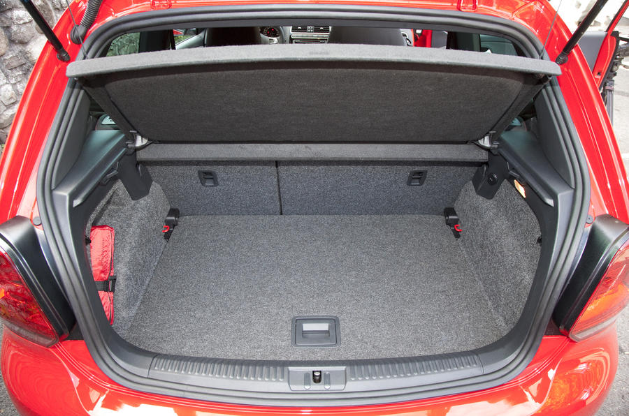 Volkswagen Polo GTI boot space