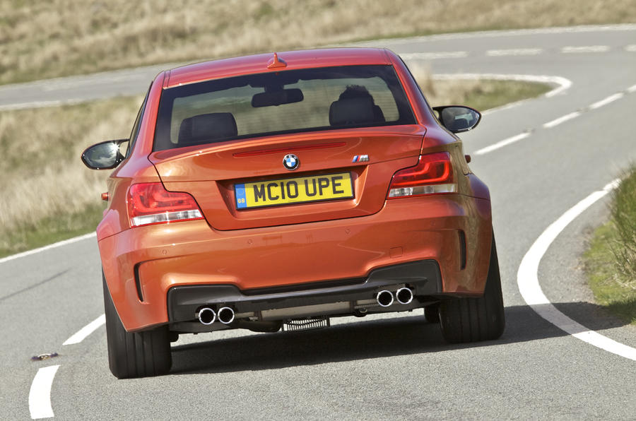 BMW 1 Series M Coupé rear
