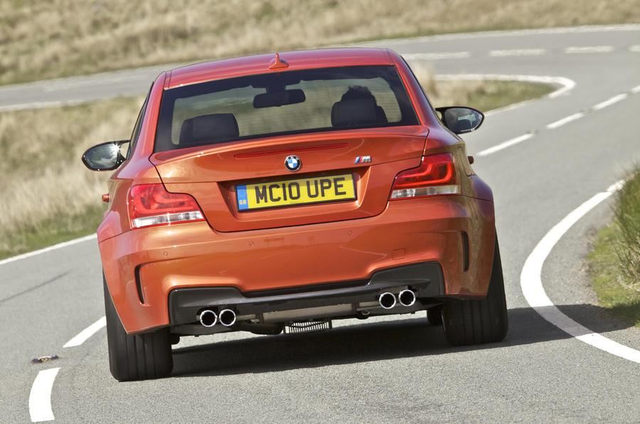BMW 1 Series M Coupé rear