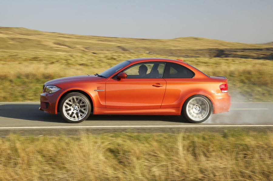 BMW 1 Series M Coupé burnout