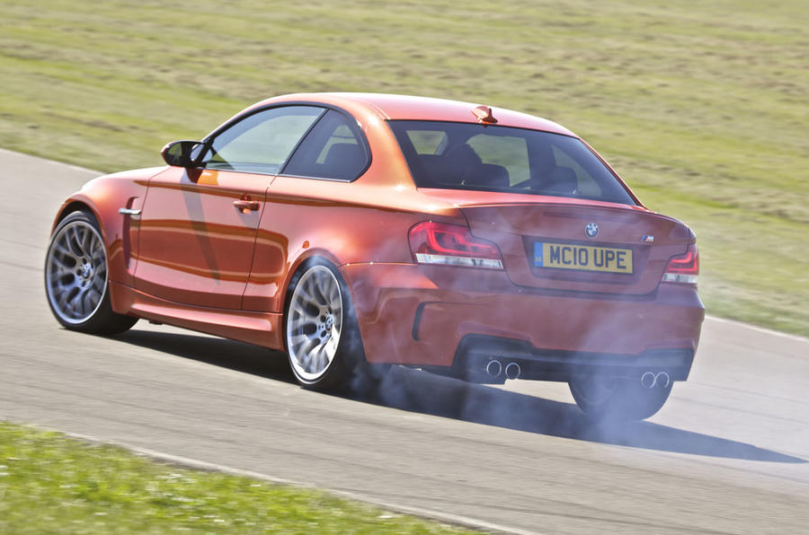BMW 1 Series M Coupé drifting