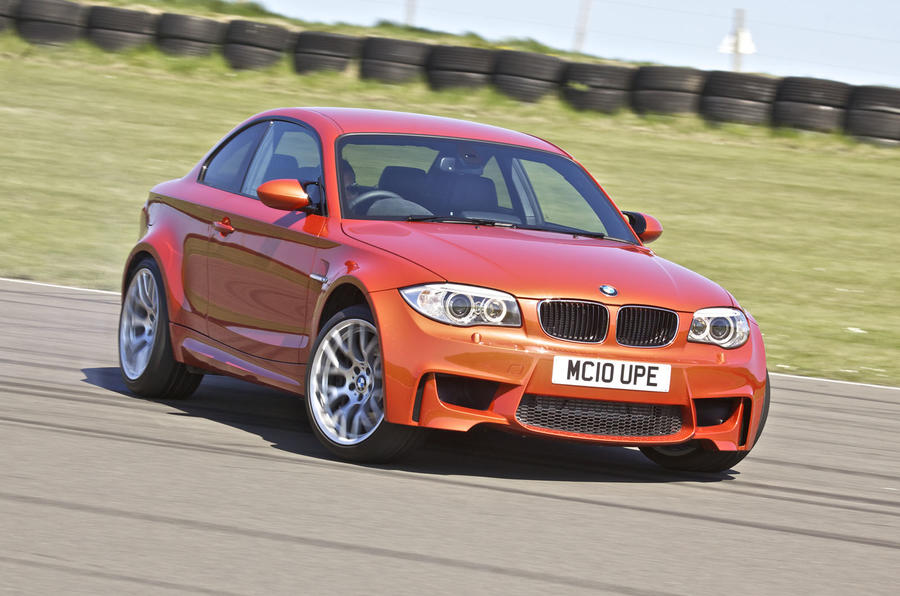 BMW 1 Series M Coupé drifting