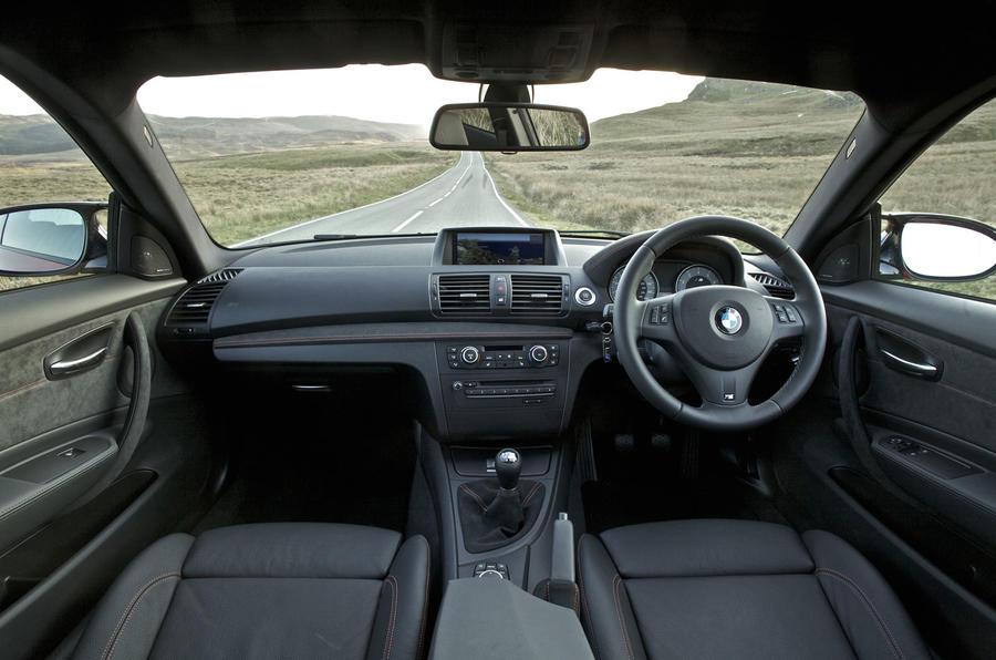 BMW 1 Series M Coupé dashboard