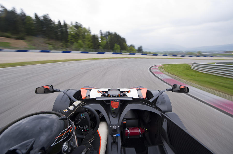 Driving the KTM X-Bow R