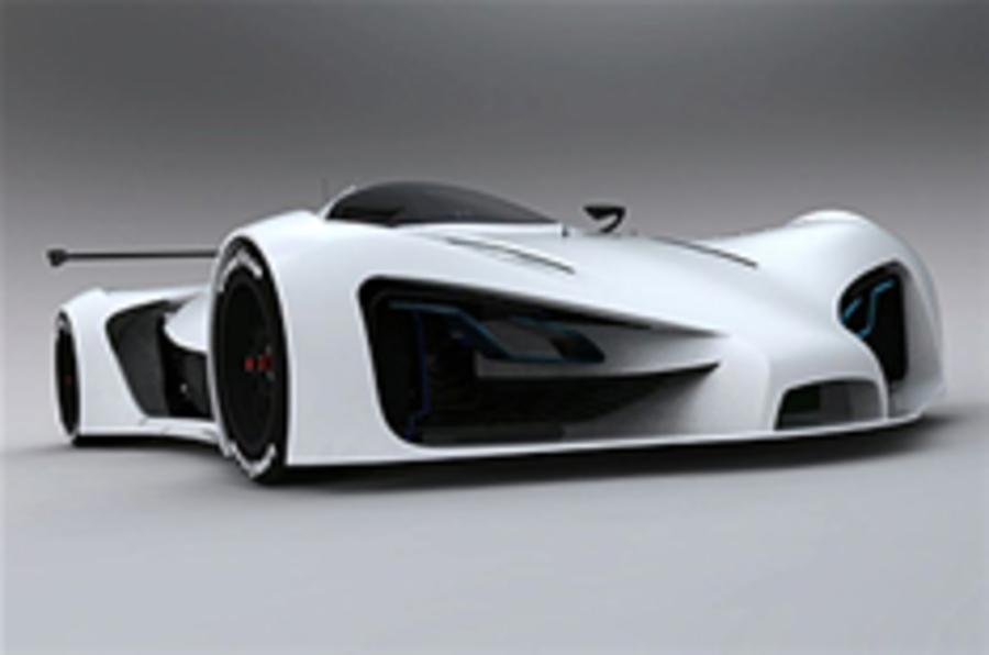 Electric Le Mans concept car