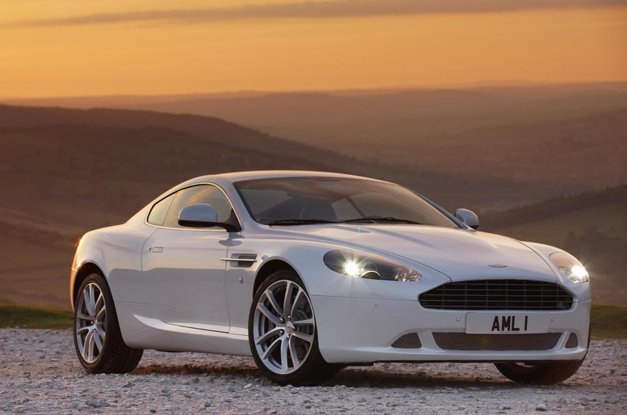 Aston Martin DB9 front quarter