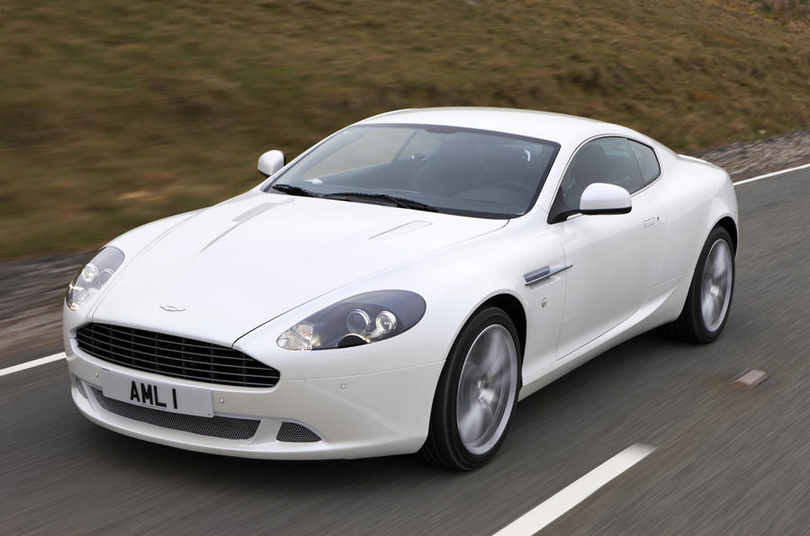 Aston Martin DB9 facelift