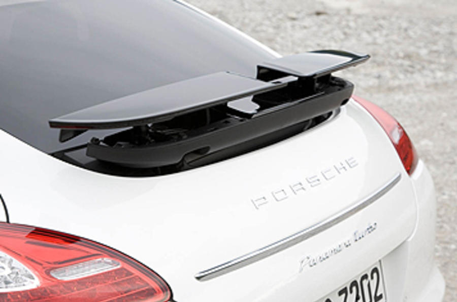 Porsche Panamera Turbo rear wing