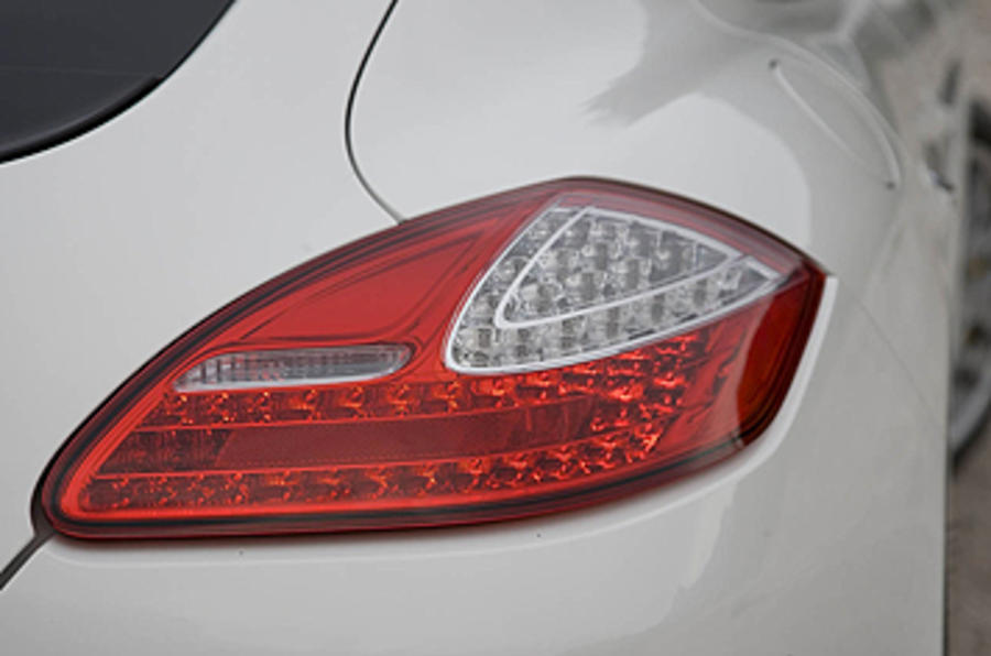 Porsche Panamera Turbo rear lights