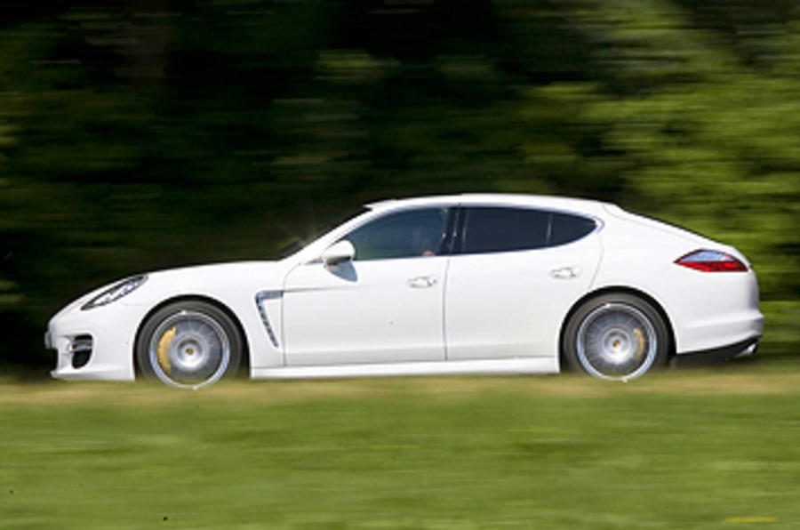 Porsche Panamera Turbo side profile