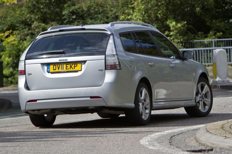 Saab 9-3 Sportwagon rear