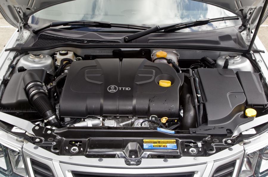 Saab 9 3 Sportwagon Engine Bay