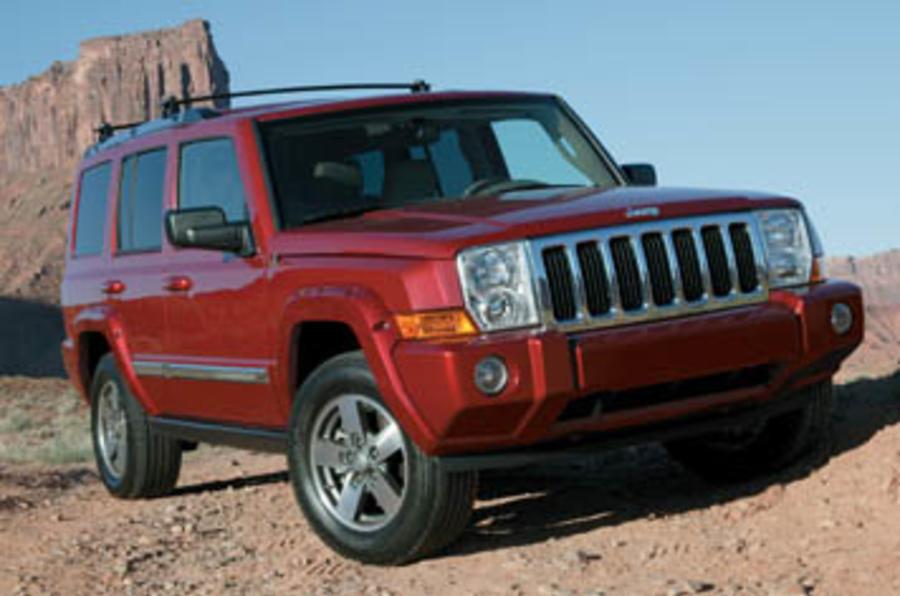 Jeep Commander 5 7 V8 Review Autocar