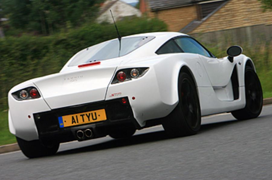 Farbio GTS-400 rear cornering