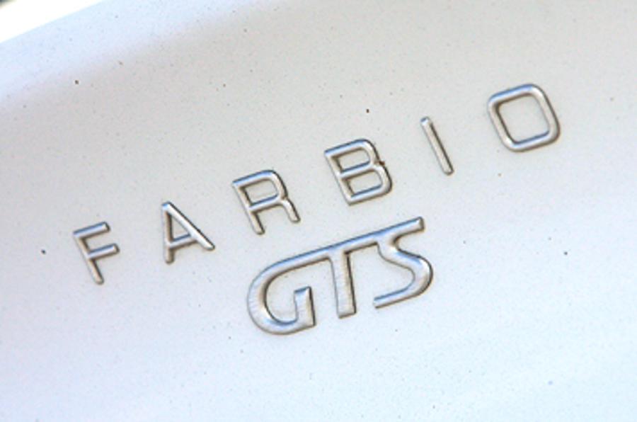 Farbio GTS-400 rear badging