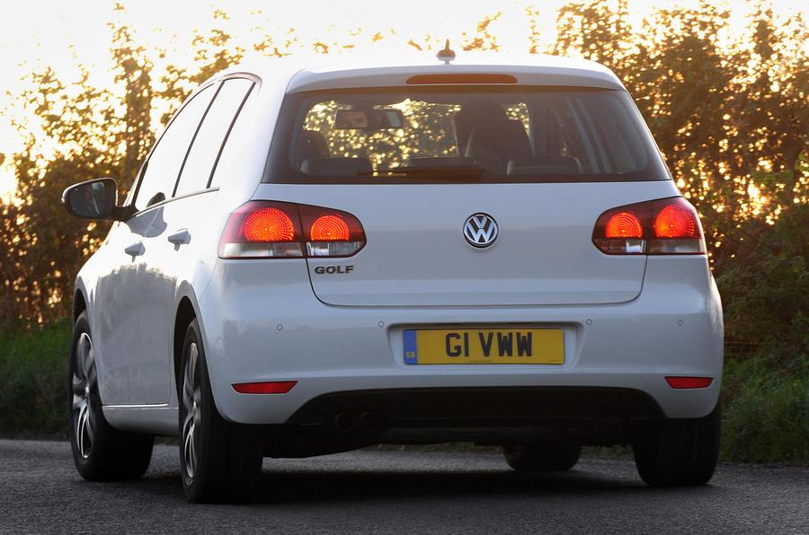 Volkswagen Golf rear end
