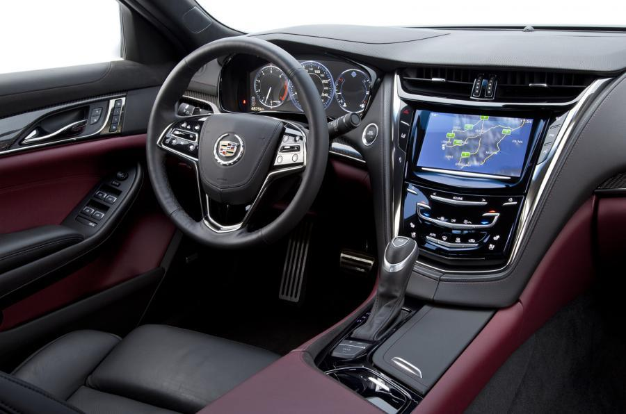 Cadillac CTS interior