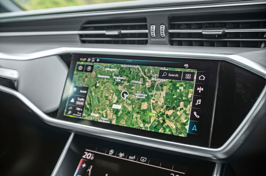 Audi A6 Avant 2018 road test review - infotainment