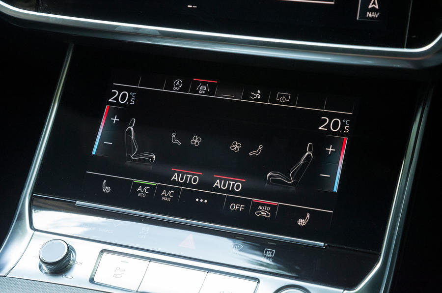 Audi A7 Sportback 2018 road test review climate control