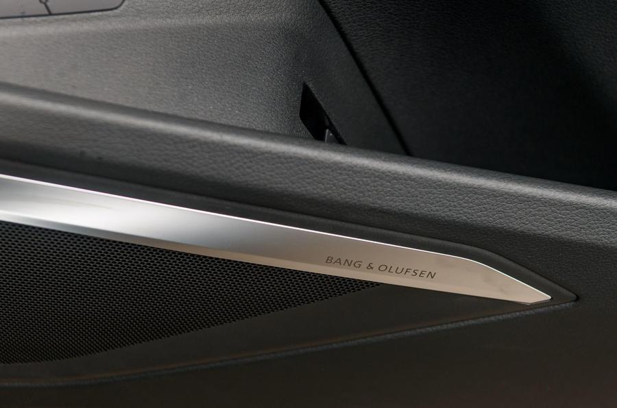 Audi E-tron 55 Quattro 2019 road test review - speakers