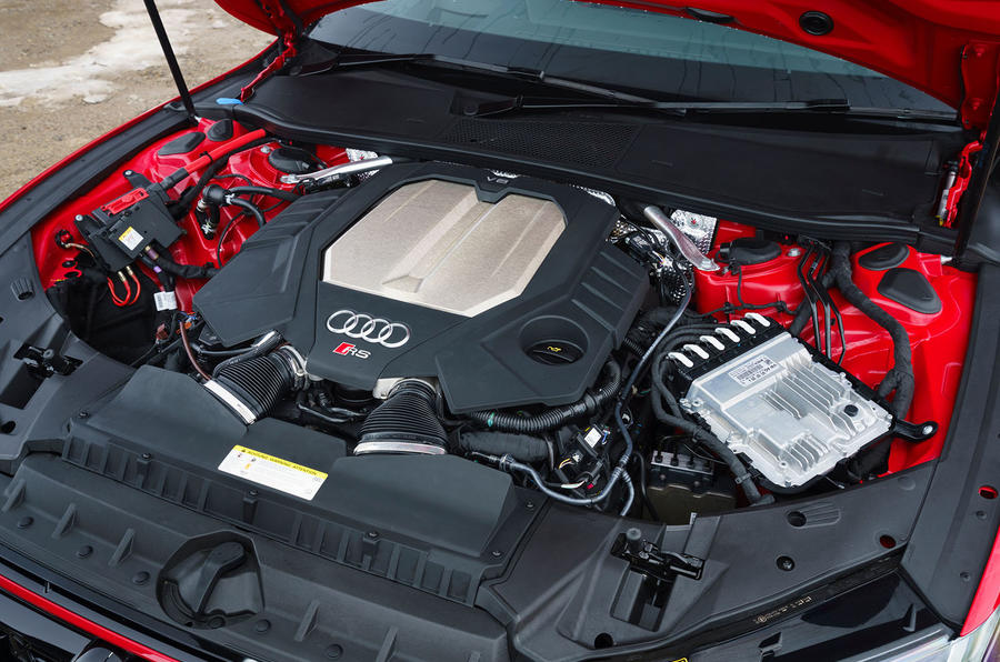 Audi RS7 Sportback 2020 road test review - engine