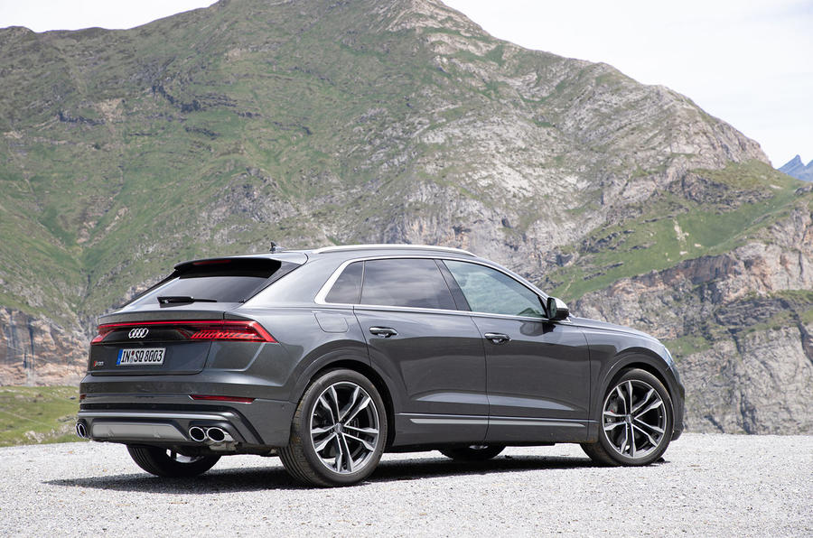 Audi SQ8 2019 road test review - static rear