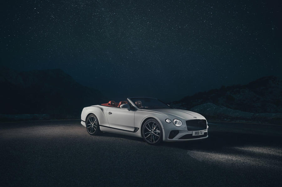Bentley Continental GTC 2019 first drive review - static front