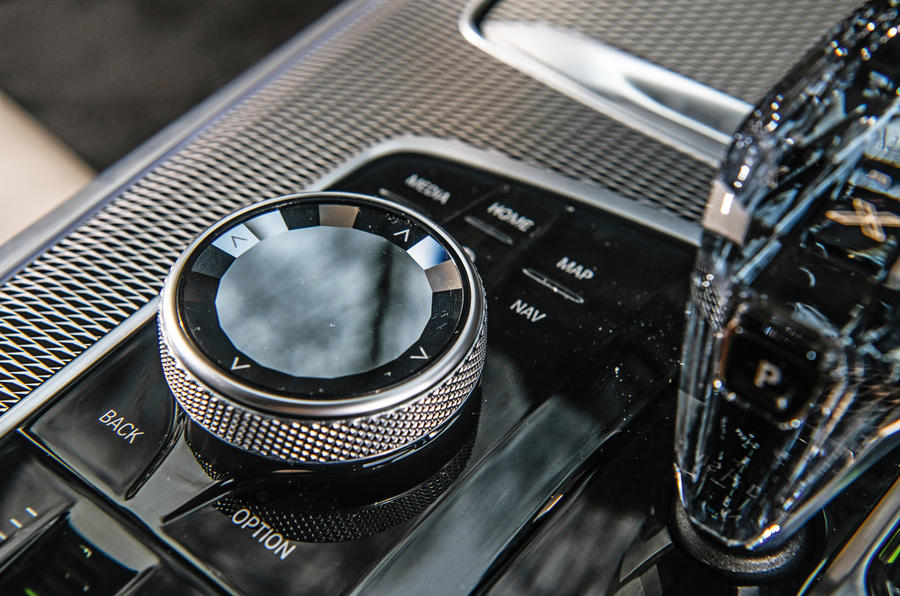 BMW X5 2018 road test review - iDrive controls