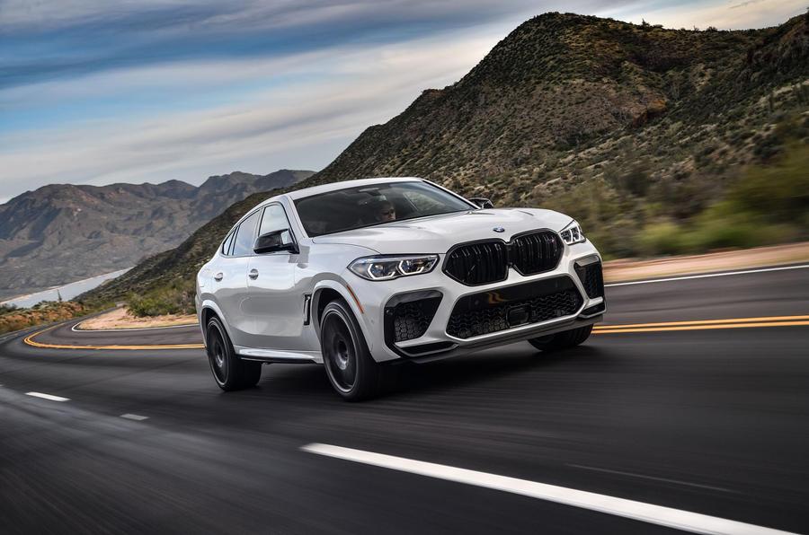 BMW X6 M Competition 2020 : examen des essais routiers - sur la route