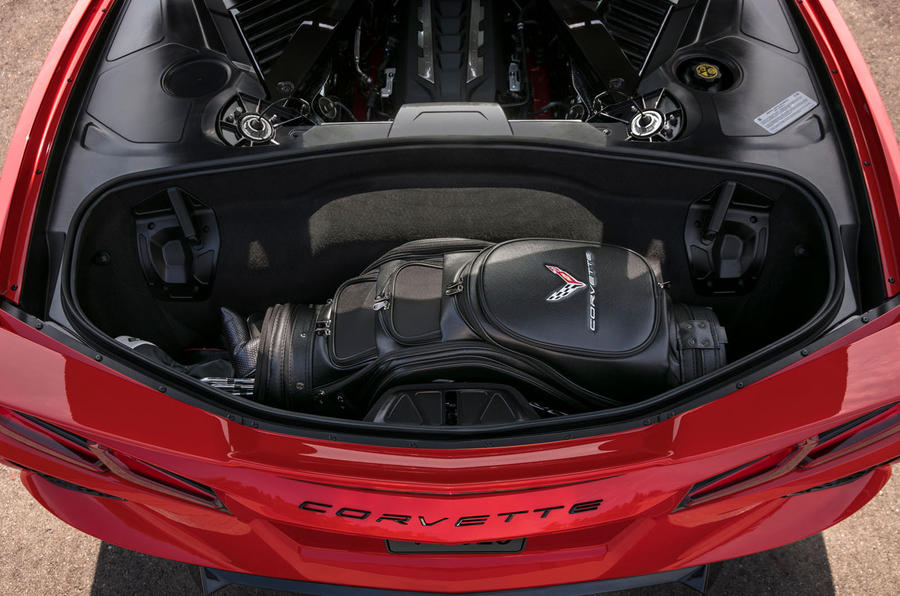 Corvette Stingray C8 2019 road test review - boot