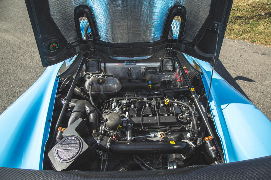 Dallara Stradale 2019 road test review - engine