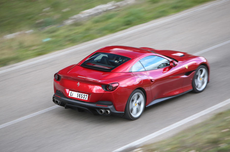 Ferrari Portofino review on the road back
