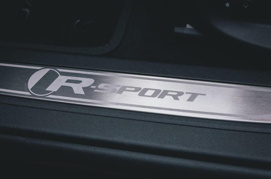 Jaguar XF Sportbrake 2019 road test review - scuff plates