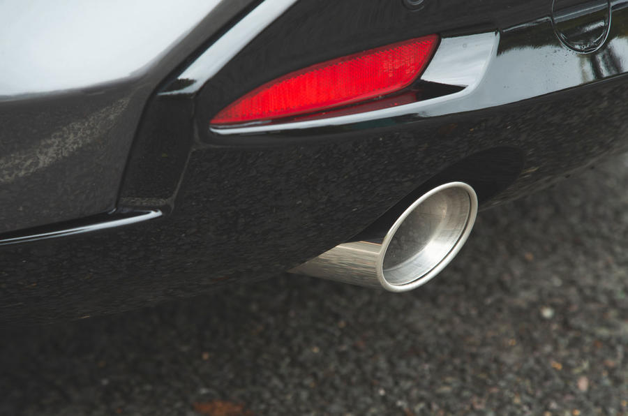 Mazda 3 Skyactiv-X 2019 road test review - exhaust