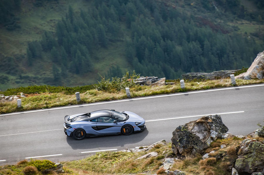 McLaren 600LT 2018 review - on the road above