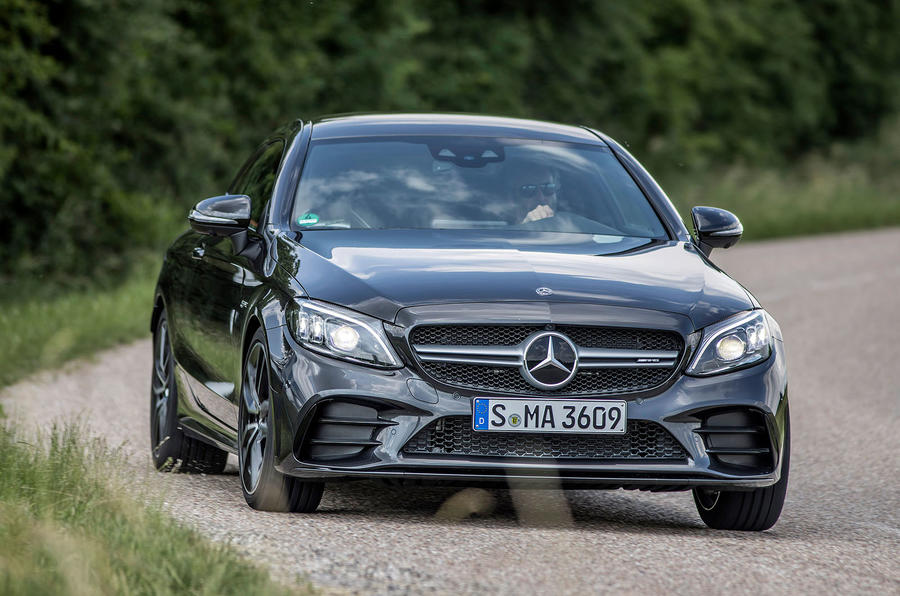 Mercedes-AMG C43 Coupe 2018 road test review front