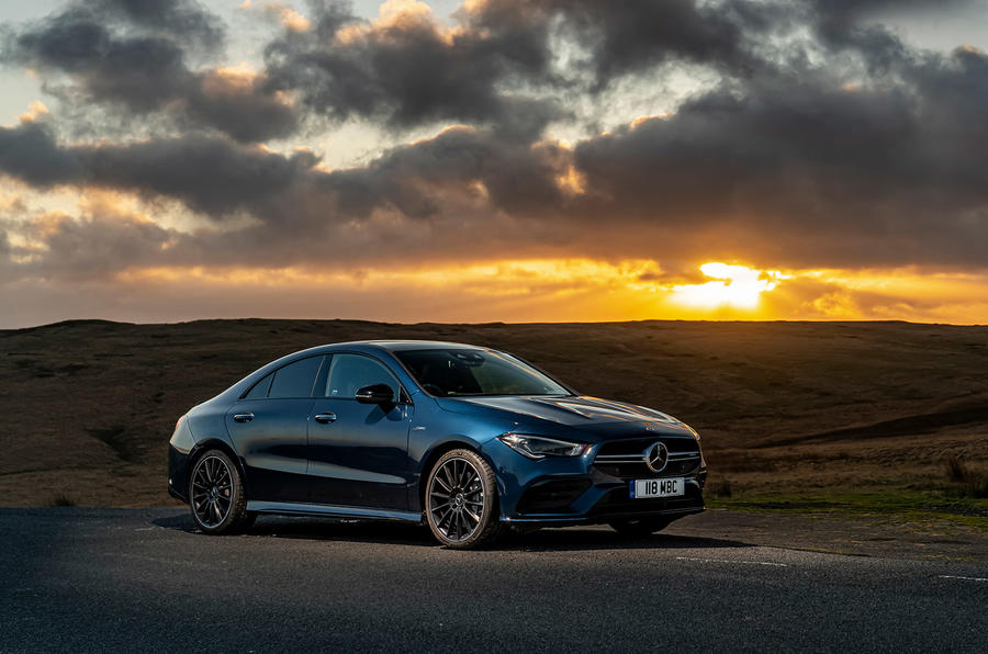 Mercedes-AMG CLA35 2020 road test review - static