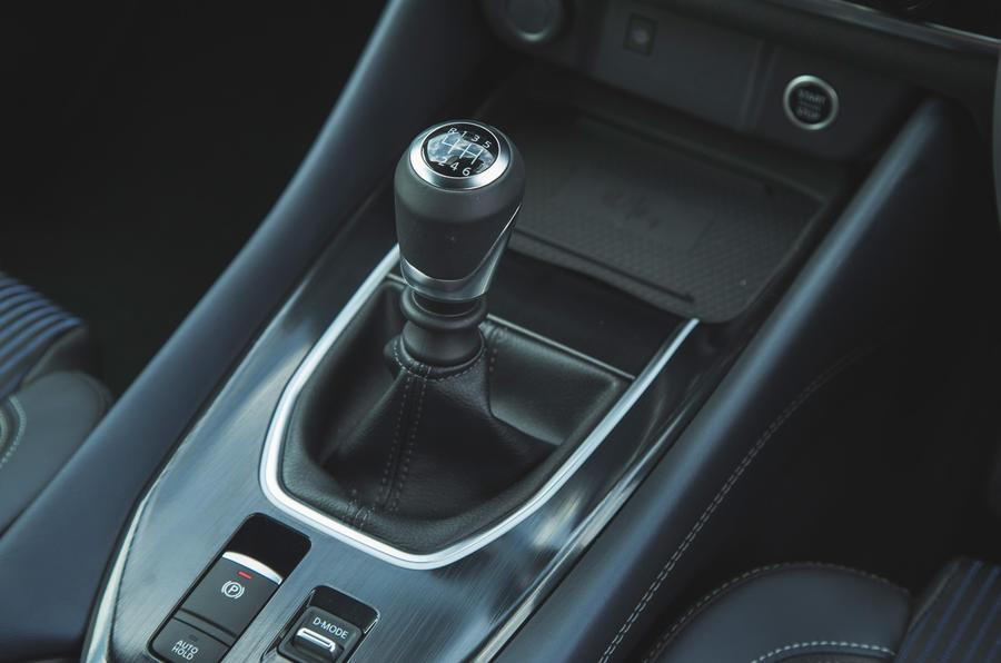 19 Nissan Qashqai 2021 RT levier de vitesse