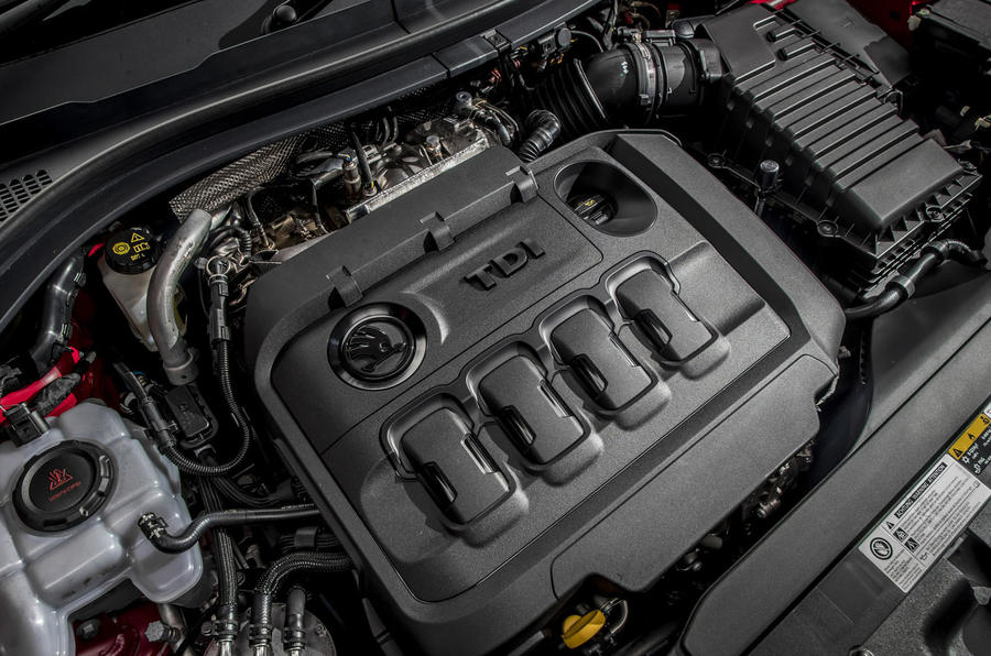 Skoda Kodiaq vRS 2019 road test review - engine