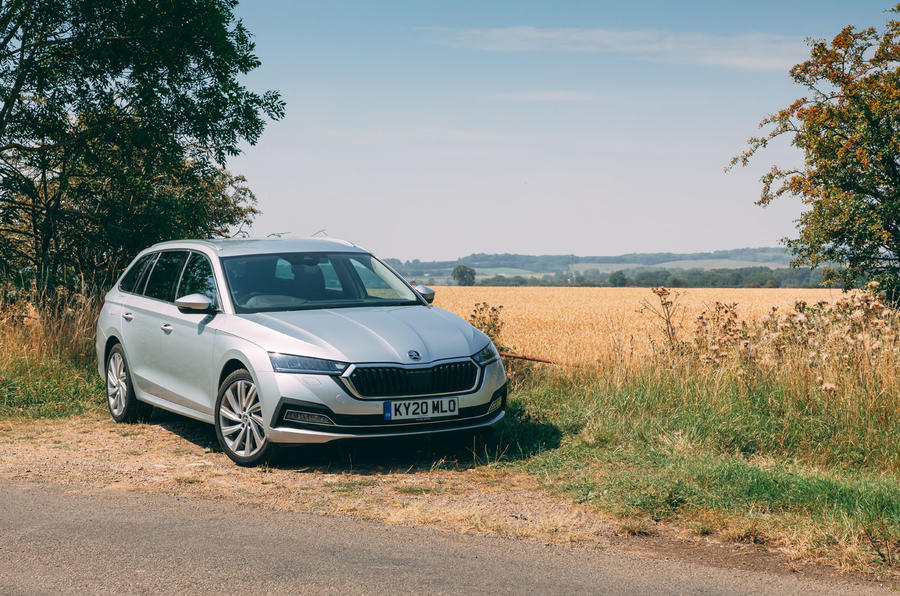 Skoda Octavia Estate 2020 road test review - static